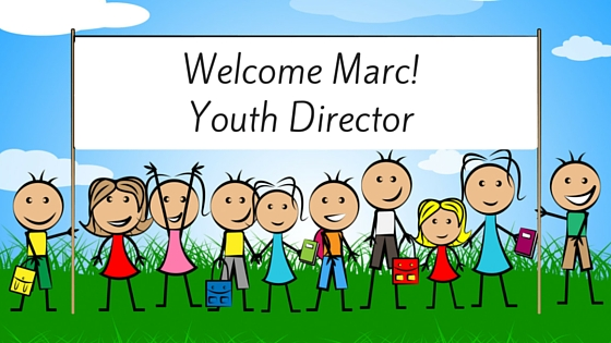 Welcome, Marc Middleton! New Youth Director