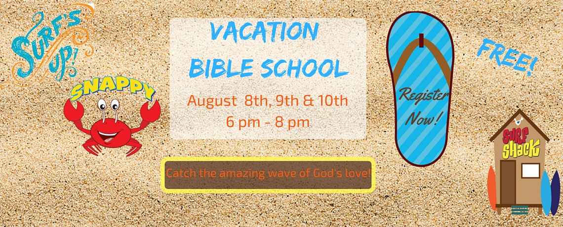 Register for Vacation Bible School