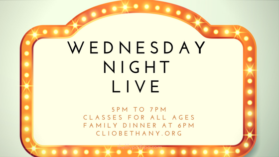 Wednesday Night Live is baaaack!
