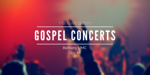 2018 Monday Night Gospel Concerts