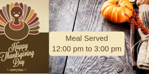 2018 Community Thanksgiving Dinner