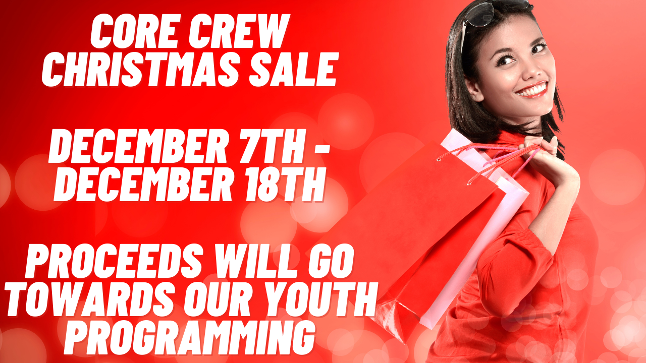 CORE Christmas Sale